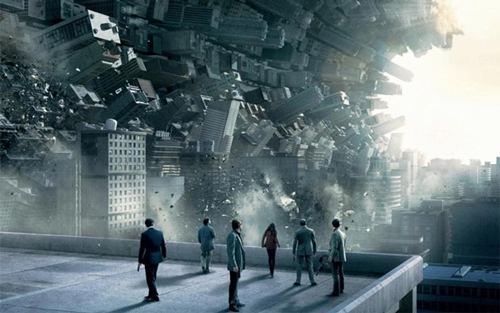 """""""Careful, we may be in a model…within a model."""" (From an Inception movie poster.)"""